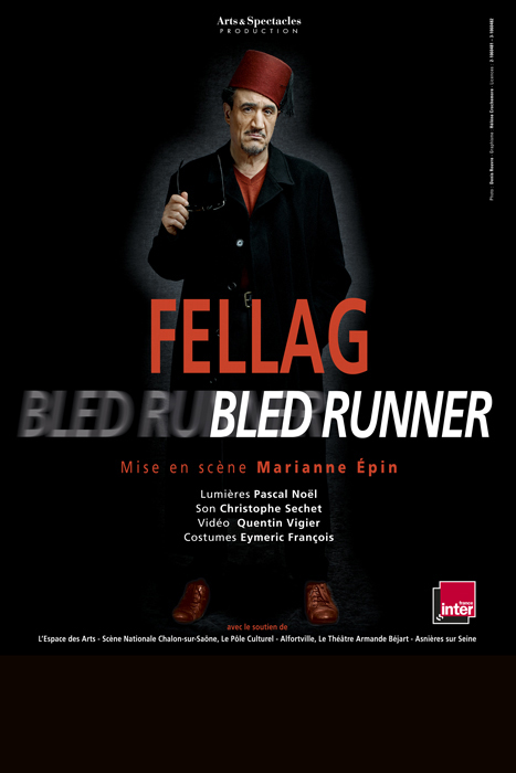 Affiche Fellage Bled Runner