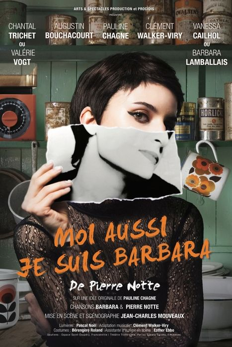 Affiche spectacle Moi aussi je suis Barbara